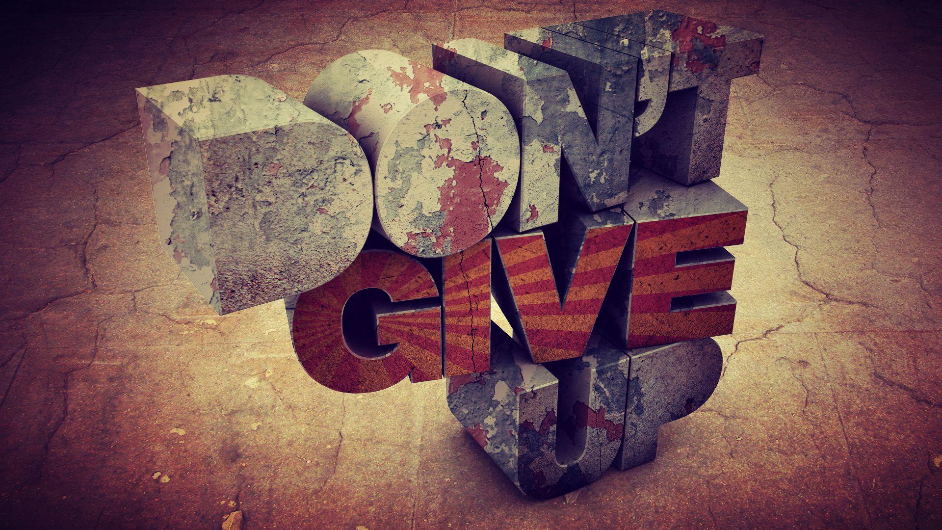 Don T Give Up Pst Zino