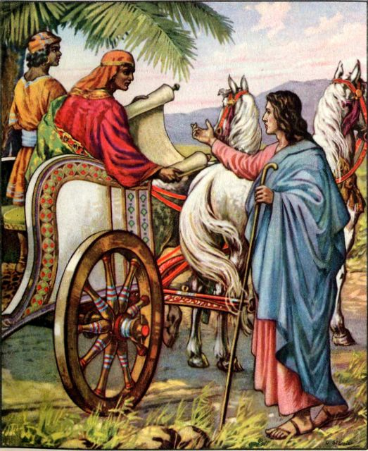 Philip and the Ethiopian Acts 8:27-31